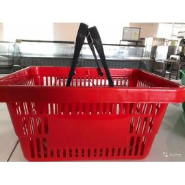 Корзина пластиковая 20 л для супермаркета