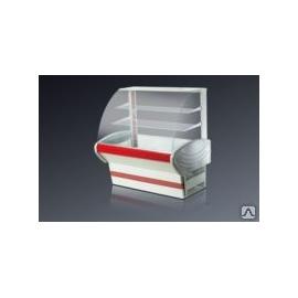 Кондитерская   витрина Иней 7К  -холодильная -1540 мм