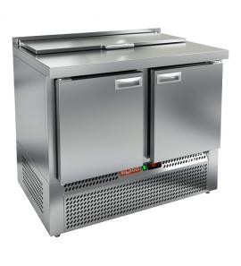 Стол охлаждаемый для салатов (саладетта) HICOLD SLE1-11GN