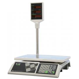 Весы электронные торговые настольные M-ER 327